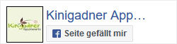 Appartements Kinigadner auf Facebook